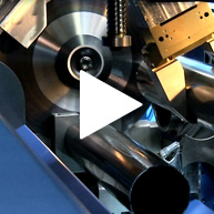 ACS Sawing + Brush-deburring D121 Stanzung Video